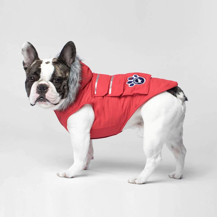 CANADA POOCH | Everest Explorer Vest in Red (BIG DOG SALE)
