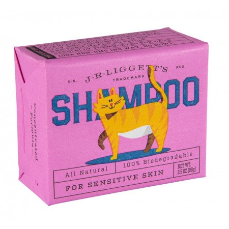 Cat Shampoo Bar for Sensitive Skin