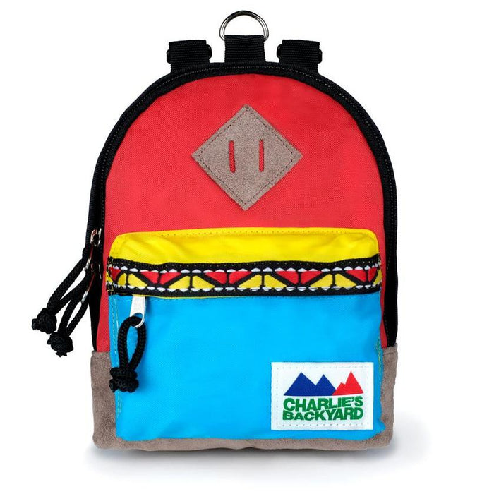 CHARLIE'S BACKYARD | Charlie's Bag Backpack in Red