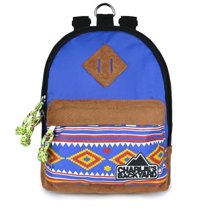 CHARLIE'S BACKYARD | Charlie's Bag Backpack in Royal Blue