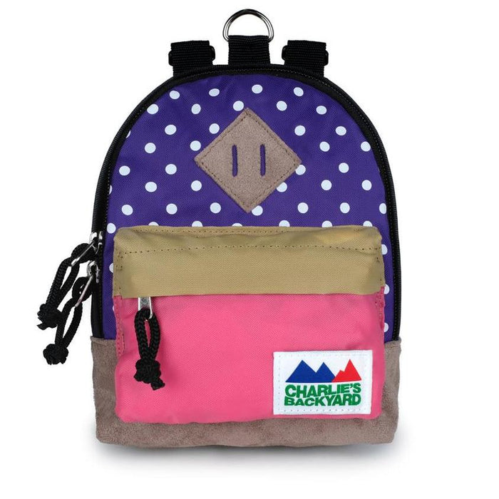 CHARLIE'S BACKYARD | Charlie's Bag Backpack in Violet