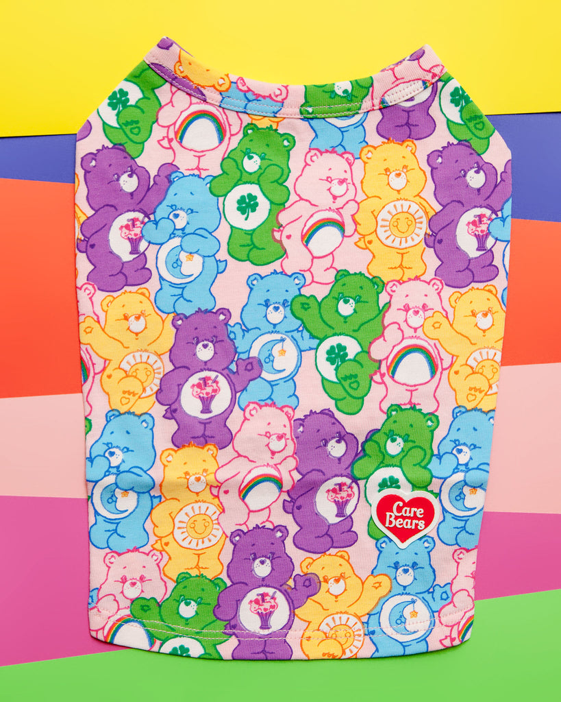 Care Bear All-Over T-Shirt (IMMEDIATE SHIP)
