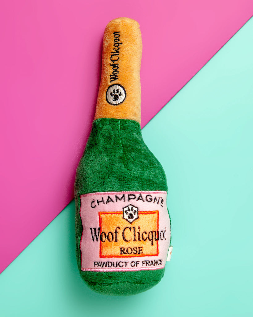 Woof Clicquot Rose' Plush Toy (Immediate Ship)