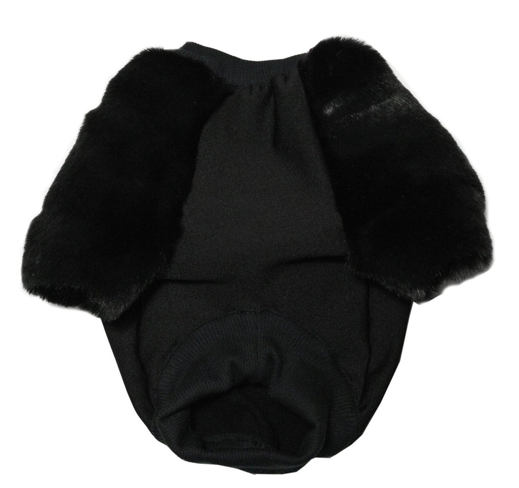 EYE OF DOG | All Black Everythang Faux Fur Jumper