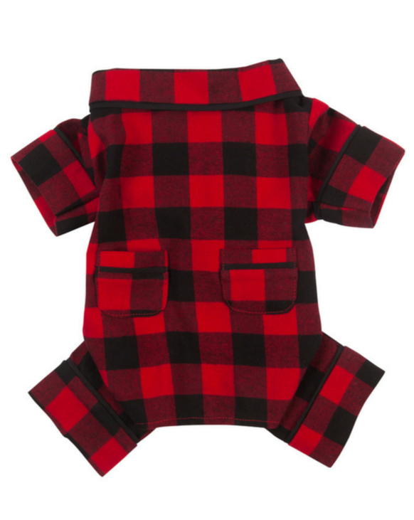 FABDOG | Buffalo Check Flannel PJ's