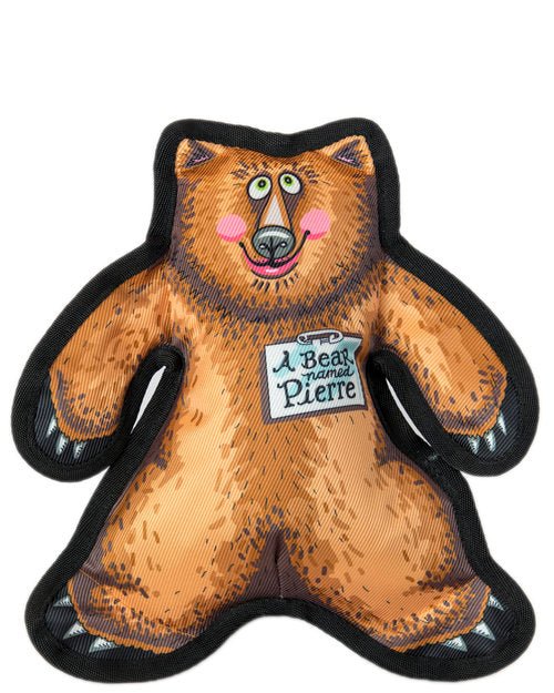FUZZU | A Bear Named Pierre Dog Toy