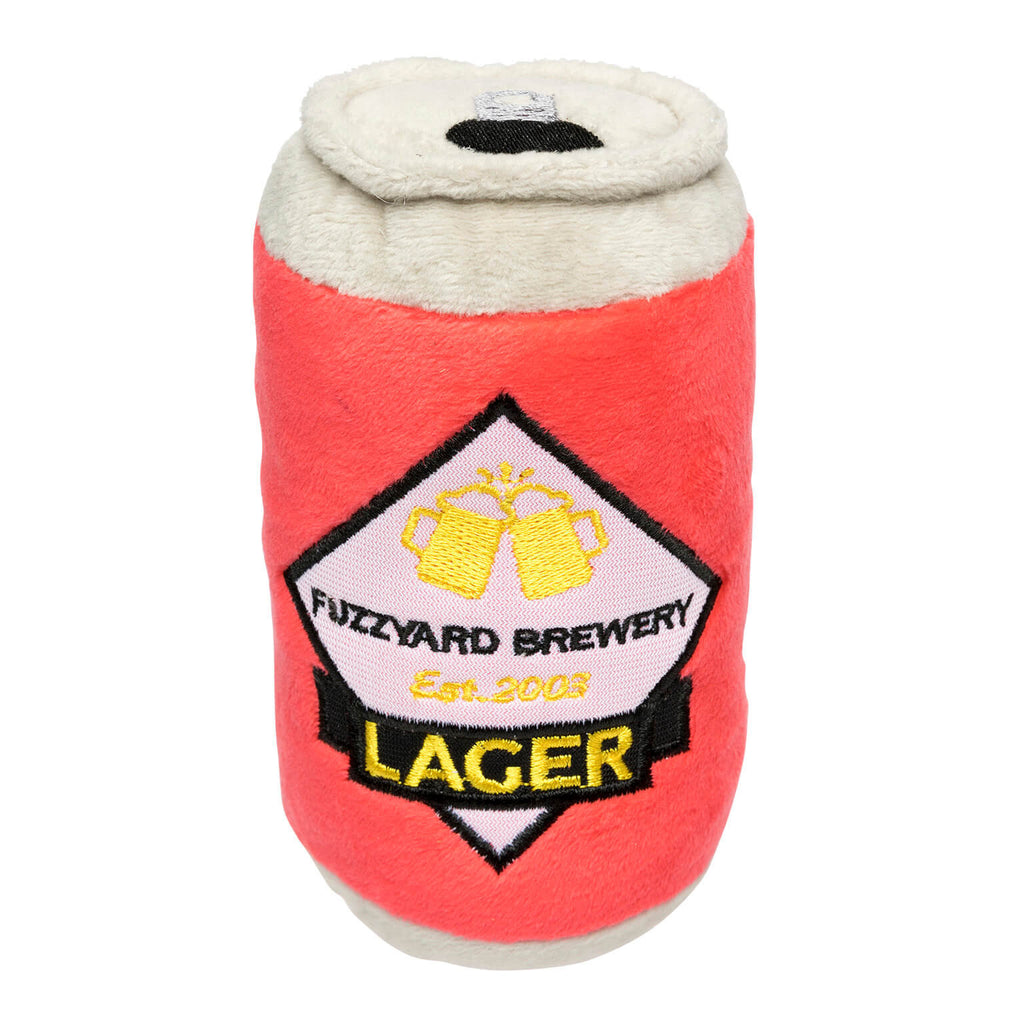 FUZZYARD | Can Of Beer Dog Toy