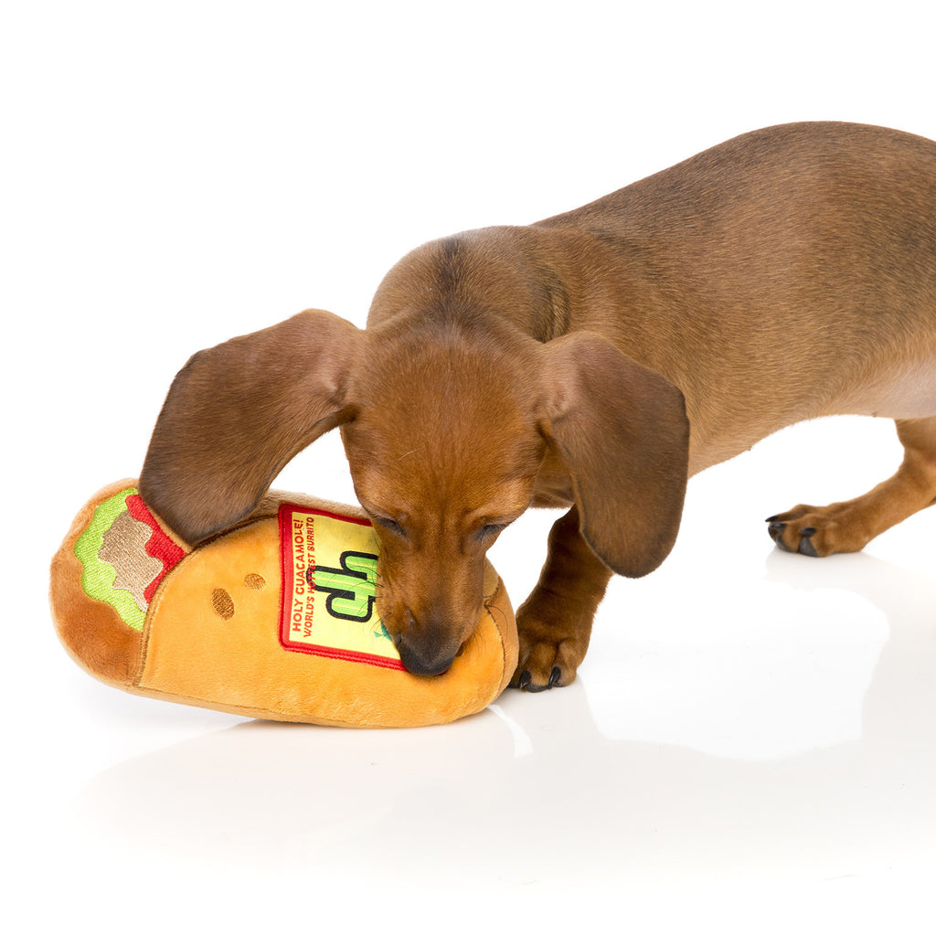 FUZZYARD | Burrito Dog Toy