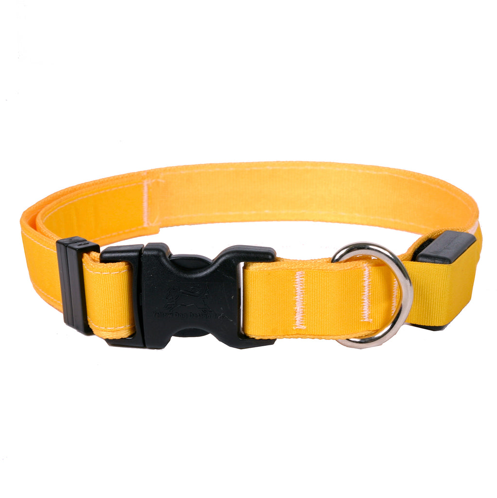 ORION COLLARS | LED Dog Collar in Goldenrod