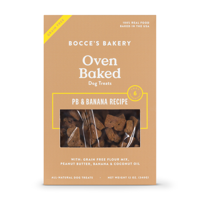 BOCCE'S BAKERY | Grain Free PB & Banana Biscuit Box