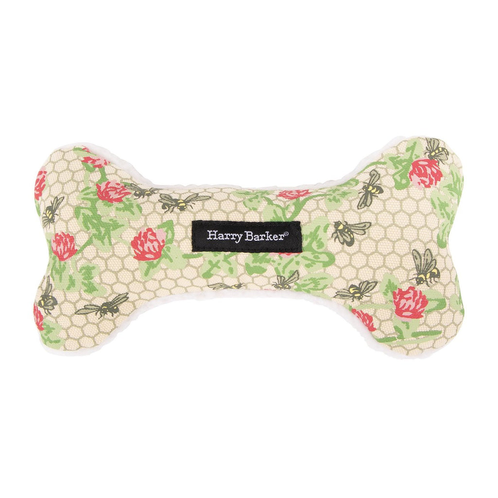 HARRY BARKER | Honeycomb Bone Canvas Toy