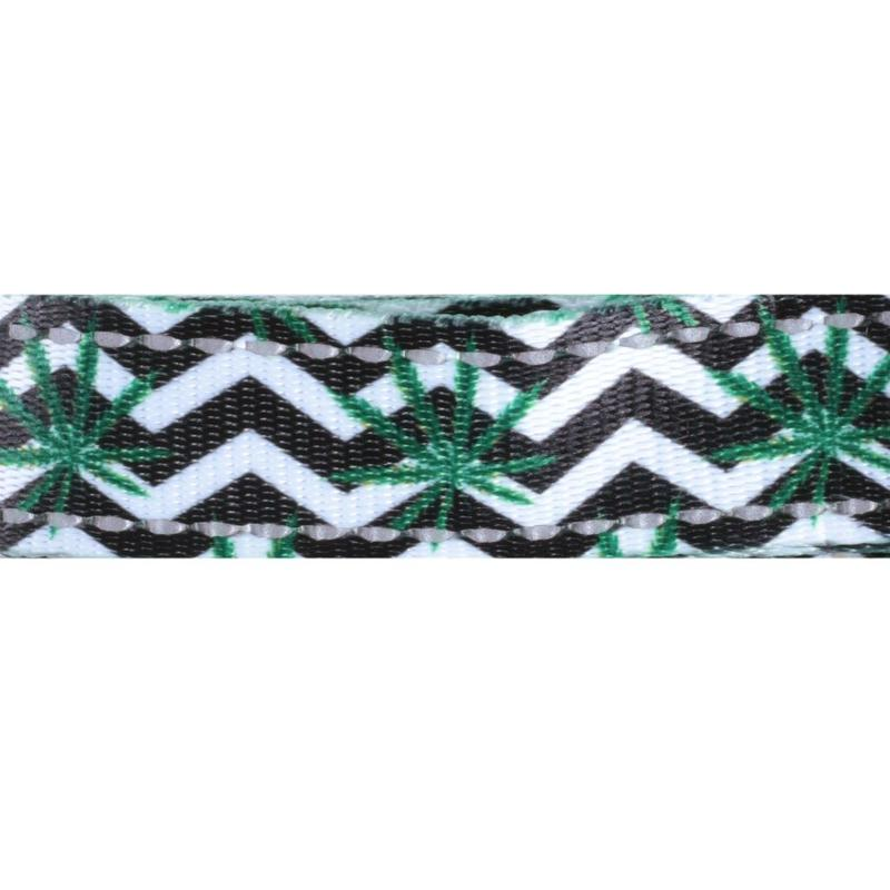 HEADY PET | Chevron & Leaf Print Leash