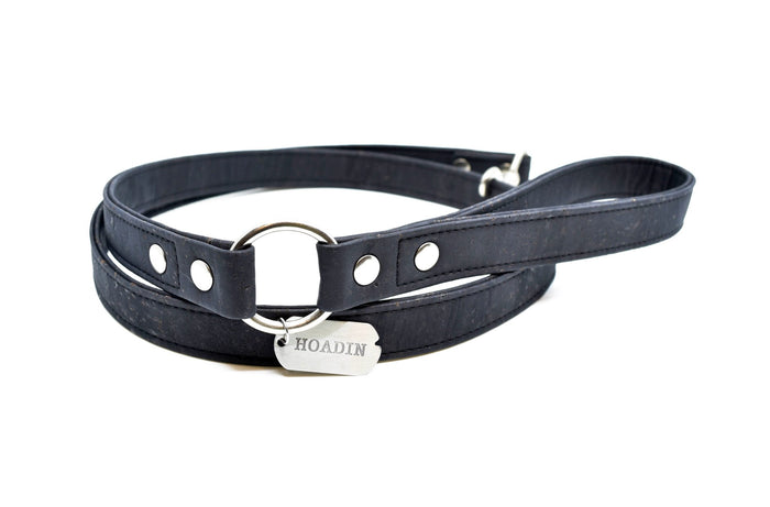 HOADIN | Cork Leash in Black