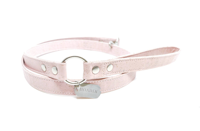 HOADIN | Cork Leash in Pink