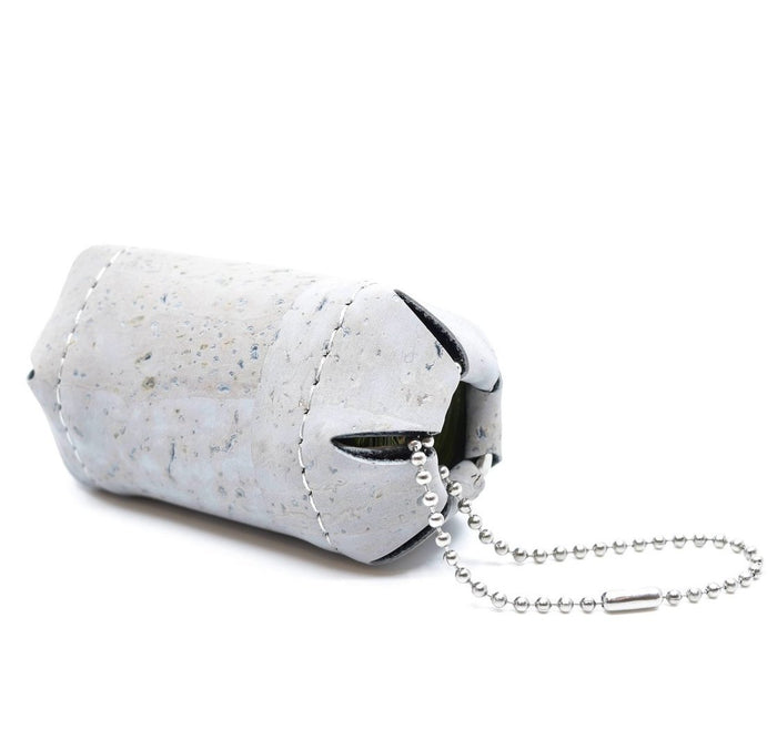 HOADIN | Cork Poop Bag Holder in Grey
