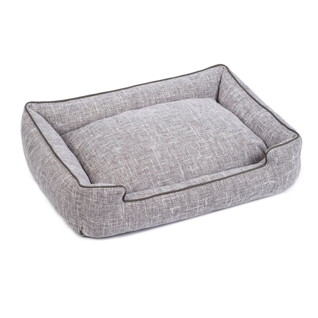 Harper Lounge Bed in Gris (Custom/Drop-Ship)