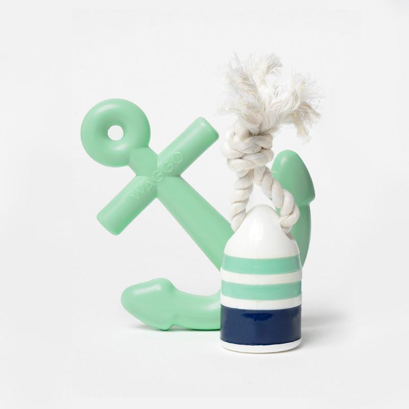 WAGGO | Anchor Toy in Mint