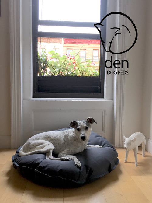 DEN DOG BEDS | Dog Bed in Steel Denim