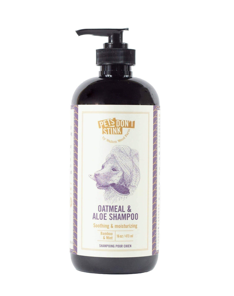 Oatmeal & Aloe Soothing Dog Shampoo (Made in the USA)