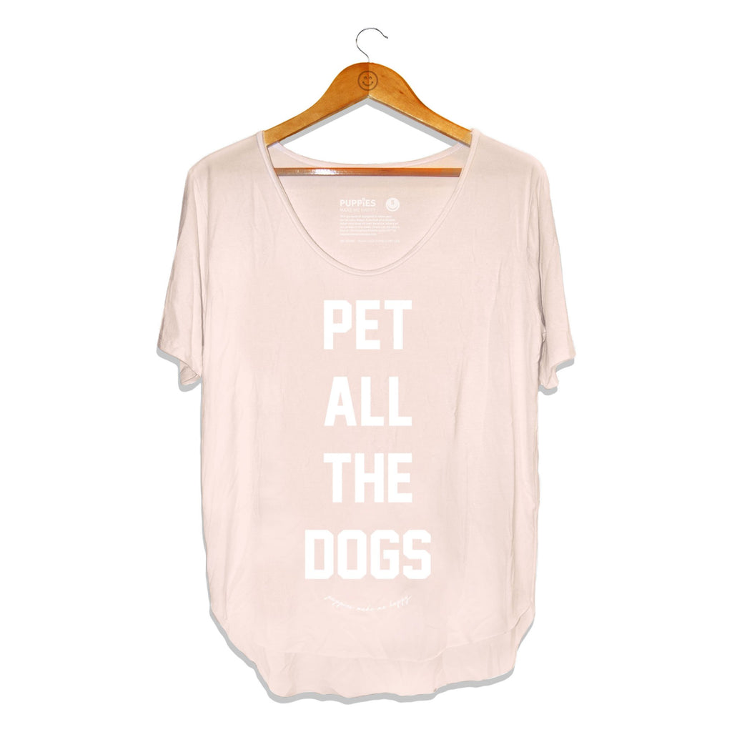 PUPPIES MAKE ME HAPPY | Pet All Dogs Weekend Tee