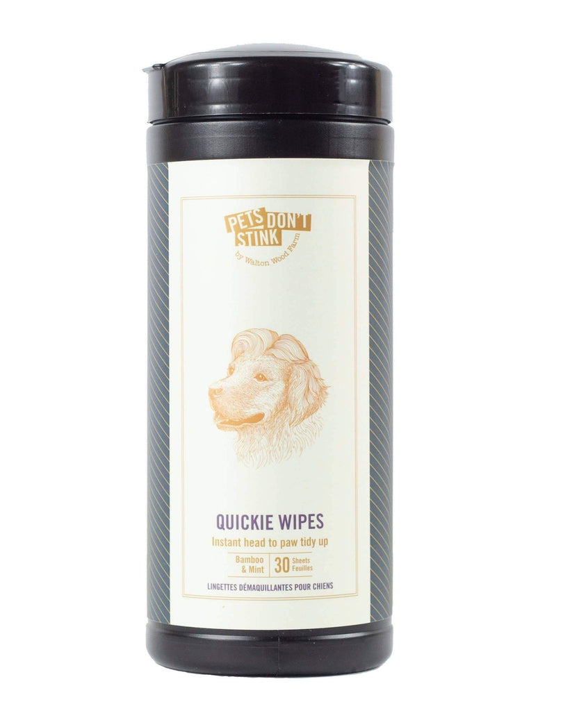 Quickie Dog Wipes (Made in the USA)