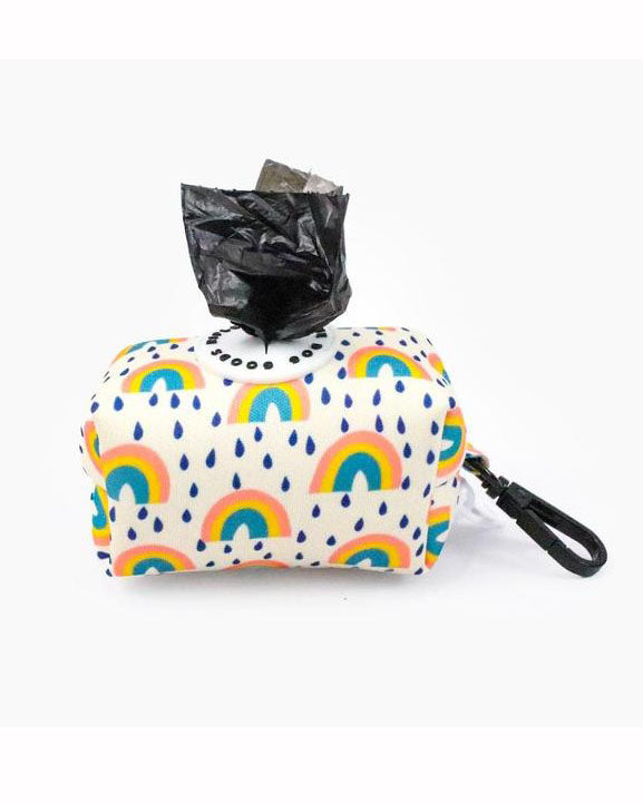Rainbow Bright Poop Bag Pouch