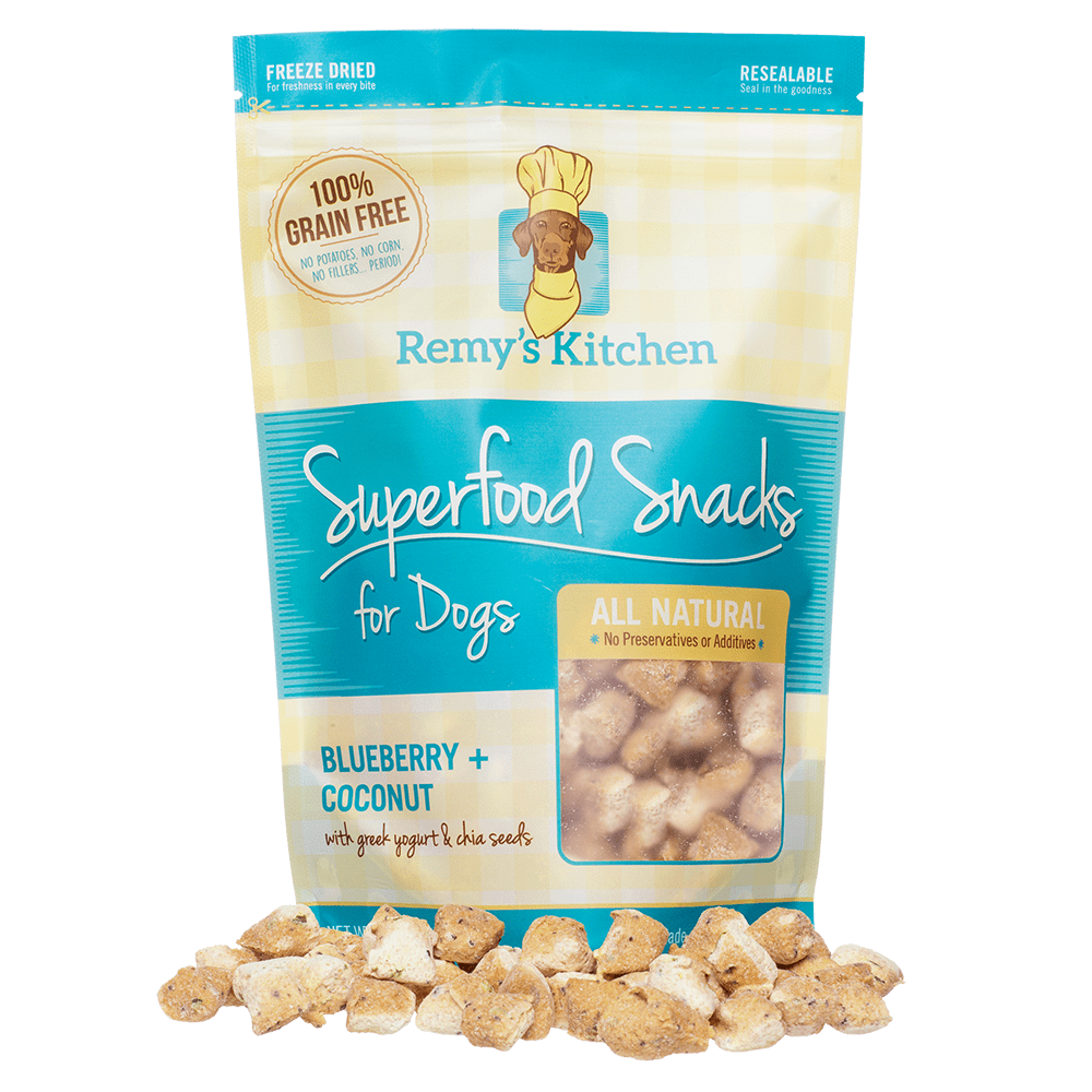REMY'S KITCHEN | Superfood Snacks in Blueberry + Coconut