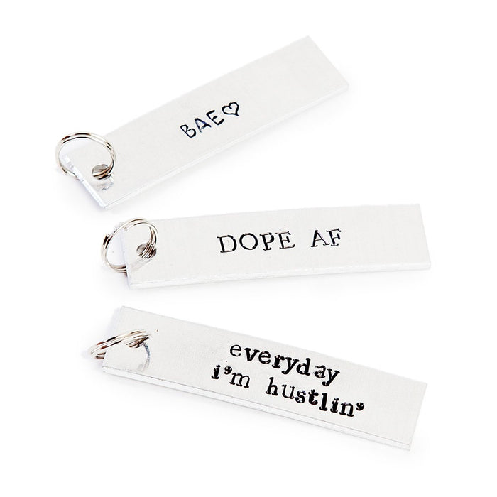 ROCKAWAY GYPSEA | Bar Aluminum Dog Tags (custom)