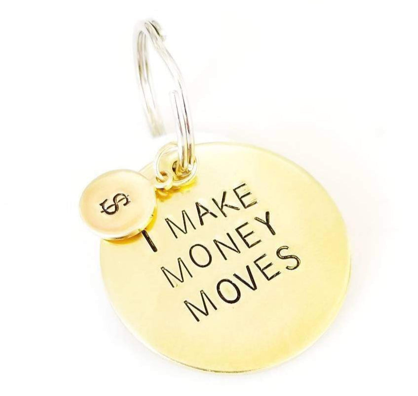 Money Moves Dog Tag