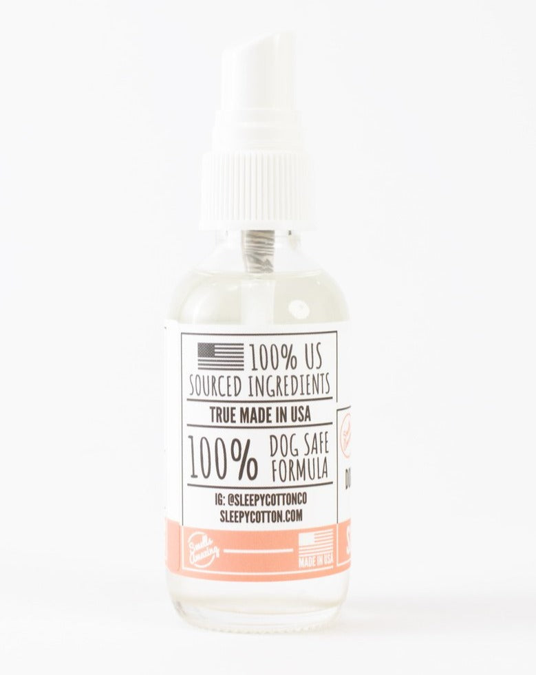 Refreshing Dog Mist in Peach