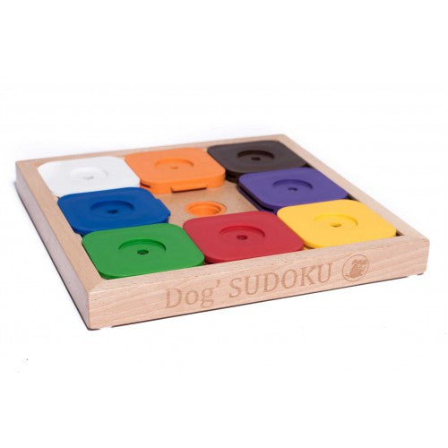 Sudoku Dog Puzzle Treat Game (Rainbow Edition)