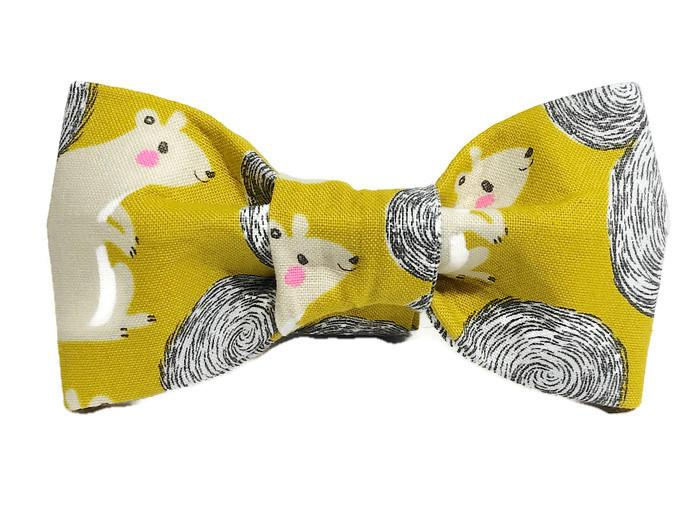 Squirrel Bow Tie (FINAL SALE)