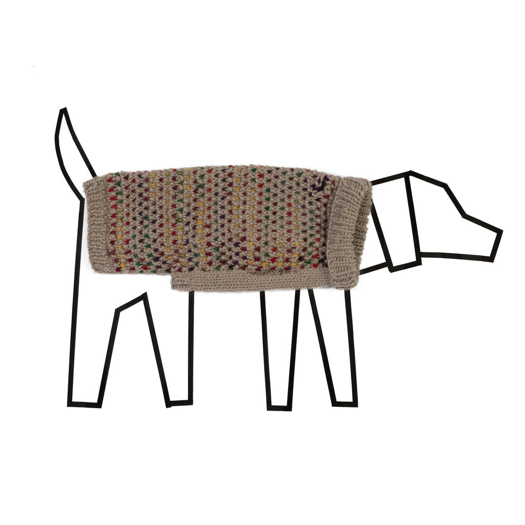 WARE OF THE DOG | Contrast Stitch Sweater
