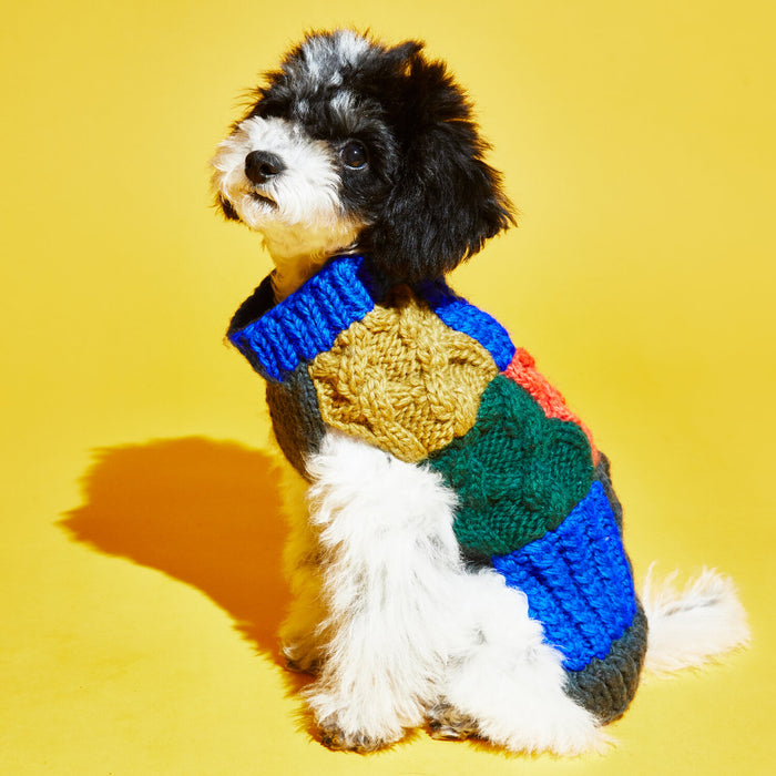 WARE OF THE DOG | Patchwork Sweater