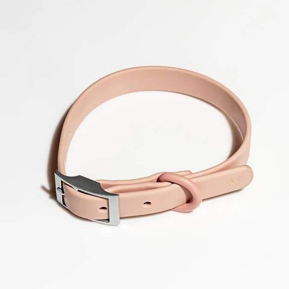 Modern Dog Collar in Blush