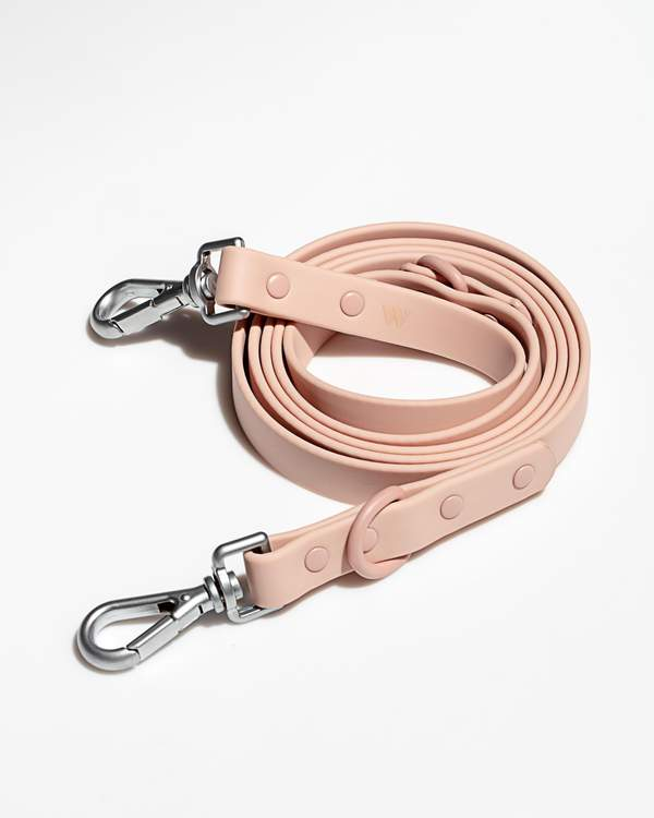 Durable Dog Leash in Blush