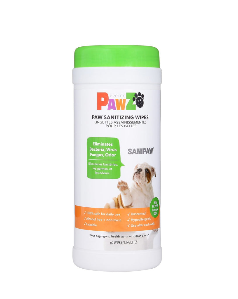 Sanipaw Daily Dog Paw Wipes