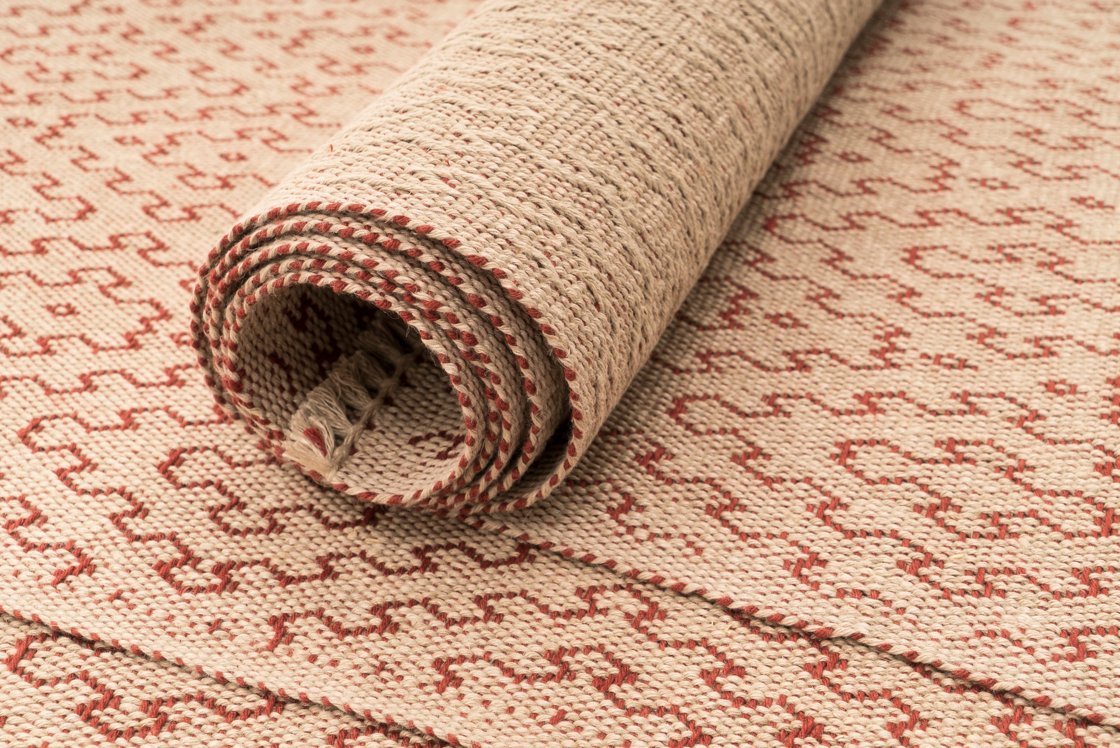 """Diane's Favourite"" Handwoven Hemp Placemat & Table Runner Set"
