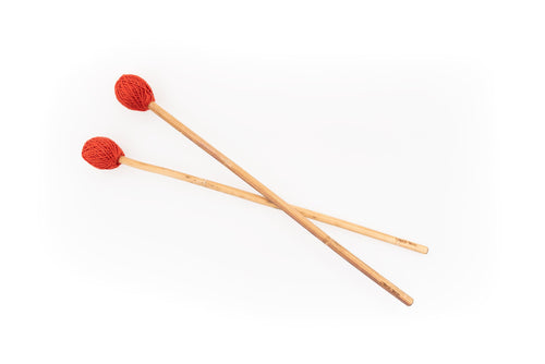 """Hard"" Hemp Stalk Mallet Percussion Sticks"