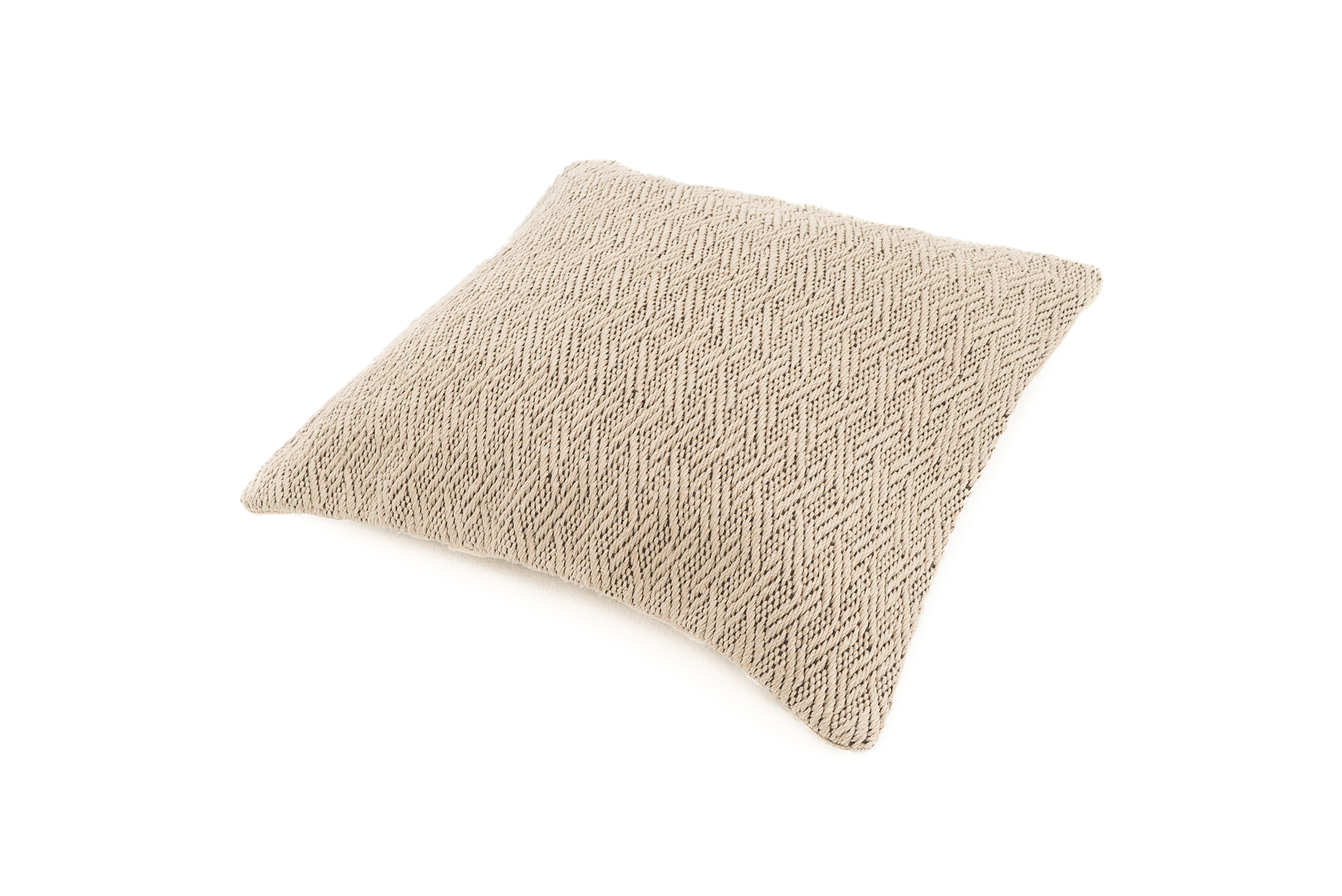 """Idioms"" Handwoven Hemp Pillow Case"