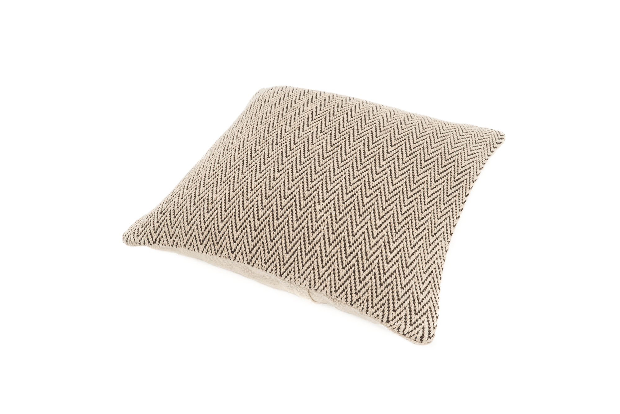 """Scales"" Handwoven Hemp Pillow Case"