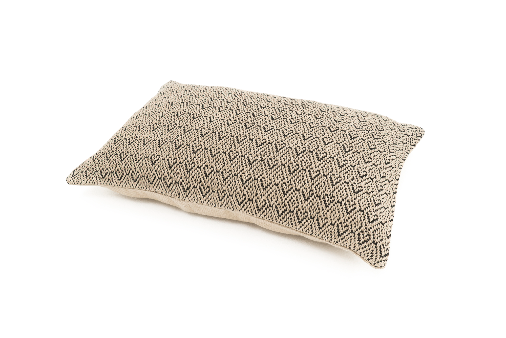 """Fortune"" Handwoven Hemp Pillow Case"