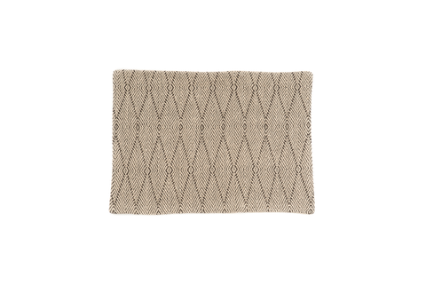 """Beauty"" Handwoven Hemp Placemat & Table Runner Set"