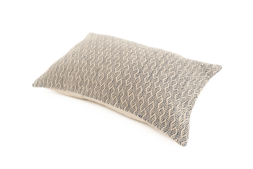 """Effect"" Handwoven Hemp Pillow Case"