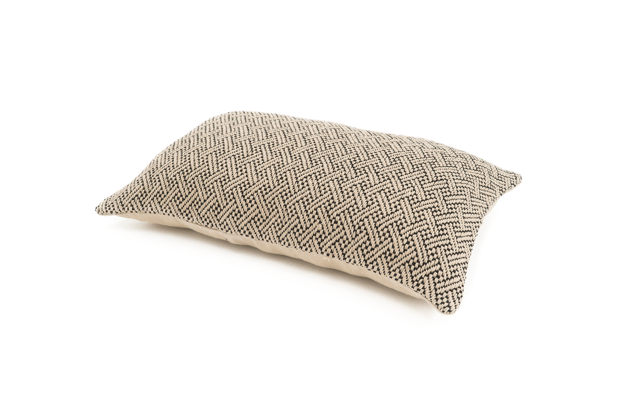 """Place"" Handwoven Hemp Pillow Case"
