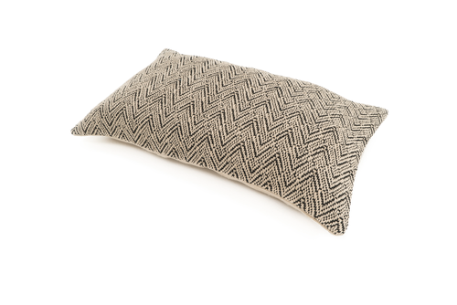 """Invitation"" Handwoven Hemp Pillow Case"