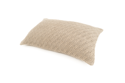 """Gwendoline"" Handwoven Hemp Pillow Case"