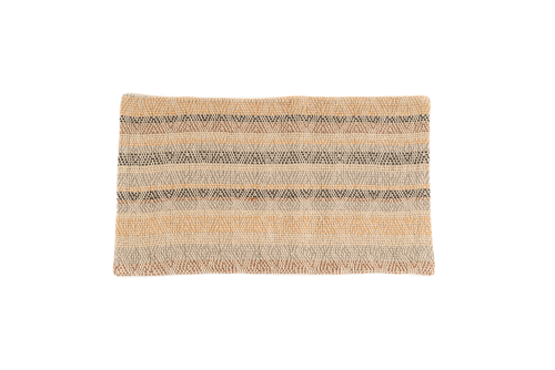 """Emilio"" Handwoven Hemp Pillow Case"