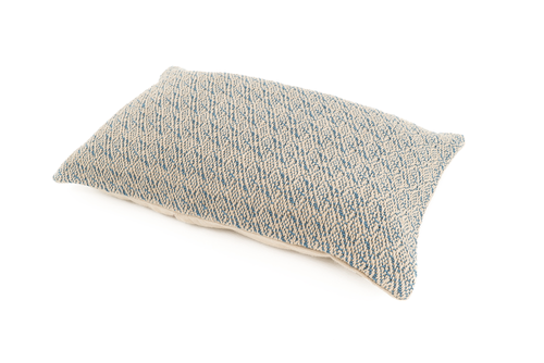 """Code"" Handwoven Hemp Pillow Case"