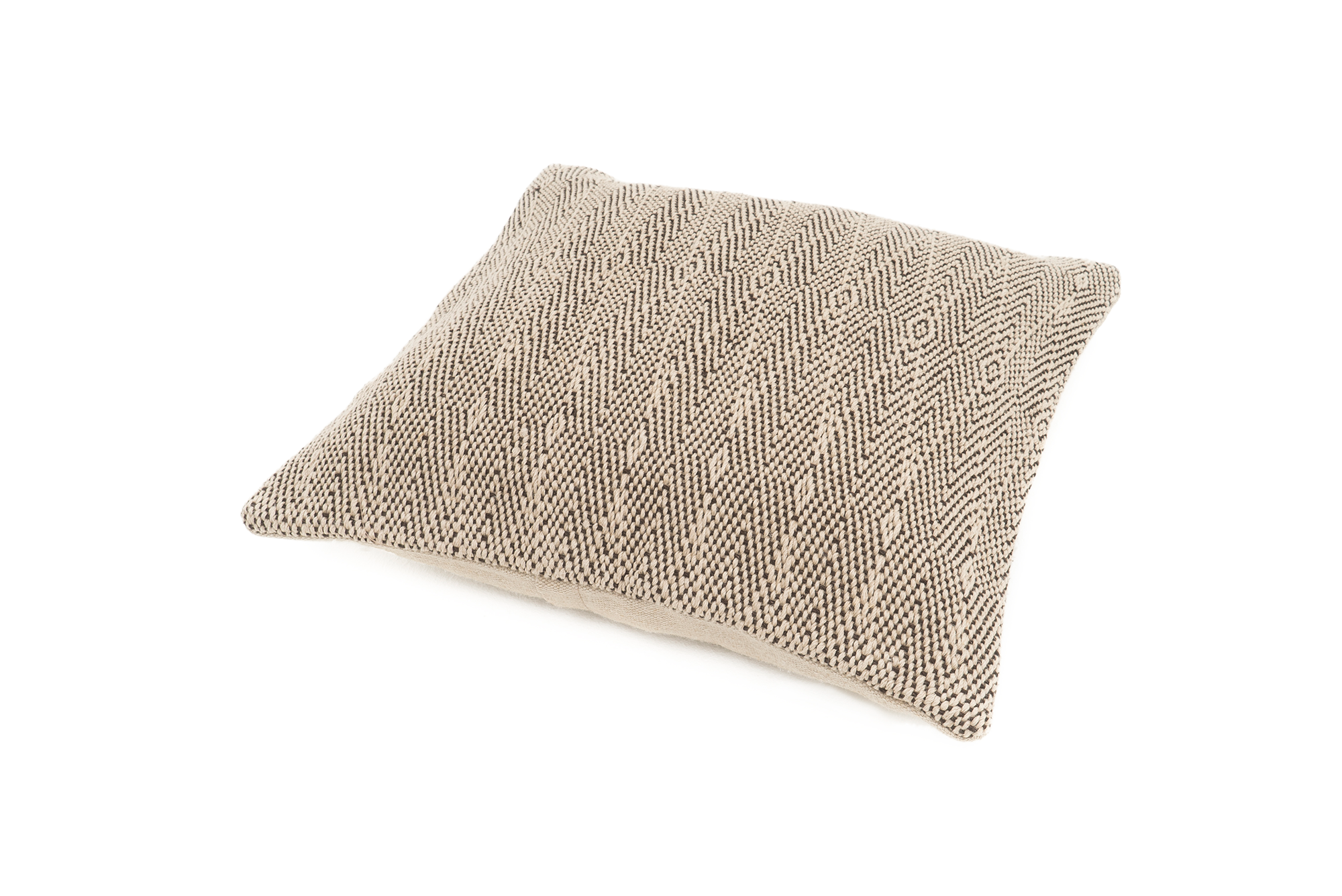 """Result"" Handwoven Hemp Pillow Case"